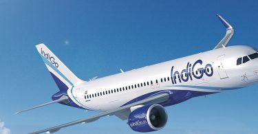 indigo-airlines-plane soaring high in the sky source: skybome